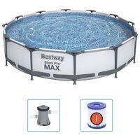 Bestway Conjunto de piscina Steel Pro MAX 366x76 cm