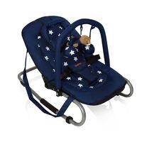 Banini Espreguiçadeira bebé Relax Classic estrela azul BNBO002-BLST