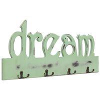 vidaXL Cabide de parede DREAM 50x23 cm