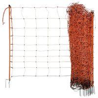 Neutral Rede para ovelhas eletrificável OviNet 90 cm laranja