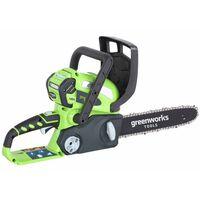 Greenworks Motosserra sem bateria de 40 V G40CS30 30 cm 20117