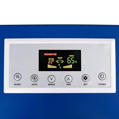 vidaXL Desumidificador com descongelamento a gás quente 50 L/24h 650 W