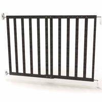 Noma Barreira de segurança extensível 63,5-106 cm madeira cinzento 94146