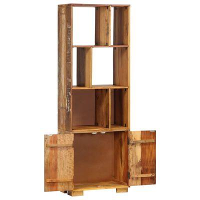 vidaXL Estante 60x35x180 cm madeira recuperada maciça