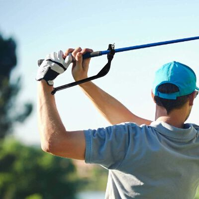 Ferramenta De Treinamento De Swing De Golfe Para Pulso Black Golf Swin,