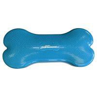 FitPAWS Plataforma equilíbrio p/ animais Giant K9FITbone PVC ciano