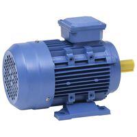 vidaXL Motor de 3 fases elétrico alumínio 4kW/5,5CV 2 polos 2840 rpm