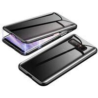 Capa de telefone magnética para Samsung Galaxy S10 com protetor de tel