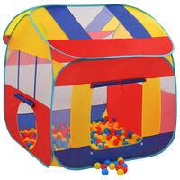 vidaXL Tenda de brincar com 300 bolas XXL