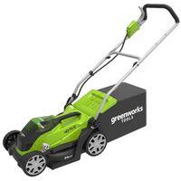 Greenworks Cortador de relva com 2x bateria 40V 2Ah G40LM35 2501907UC