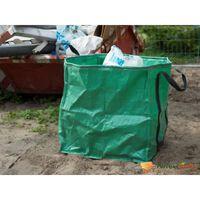 Nature Saco de lixo para jardim quadrado 148 L verde