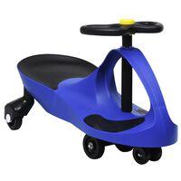 vidaXL Triciclo sem pedais com buzina azul