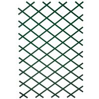 Nature Treliças de jardim 2 pcs 100x200 cm PVC verde
