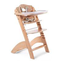 CHILDHOME Cadeira alta de bebé 2-em-1 Lambda 3 natural