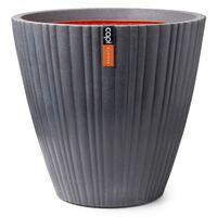 Capi Vaso afunilado Urban Tube 55x52 cm cinzento-escuro