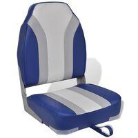 Cadeira de barco dobrável com encosto alto