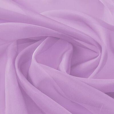 vidaXL Tecido voile 1,45 x 20 m lilás