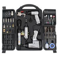 vidaXL Kit de ferramentas pneumáticas 70 pcs