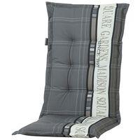 Madison Almofadão cadeira encosto Garden 123x50 cm cinzento PHOSA056