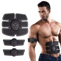 Estimulador muscular movido a bateria para músculos abdominais, braços