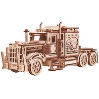 Wood Trick Kit/maqueta de camião trator à escala madeira