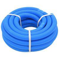 vidaXL Mangueira de piscina azul 38 mm 12 m