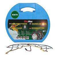 ProPlus Correntes de neve para pneu de carro 12 mm KN70 2 pcs