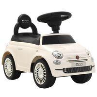vidaXL Carro de passeio Fiat 500 branco