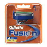 Lâmina de barbear Fusion 4-pack