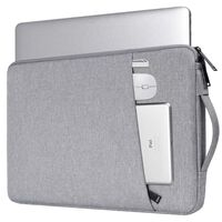 Capa para laptop de 14,1 polegadas - cinza