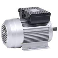 vidaXL Motor monofásico elétrico alumínio 1,5kW/2CV 2 polos 2800 RPM