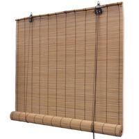 Estore de bambu castanho 100 x 160 cm