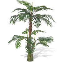 Planta artificial, palmeira Cycus, 150 cm