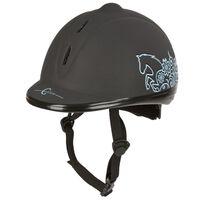 Covalliero Capacete/toque equitação Beauty VG1 53-57 cm preto 328251