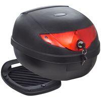 Caixa para motocicleta, para capacete, individual, 36 L