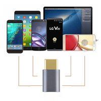 USB-C para adaptador micro USB cinza alumínio