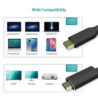 Cabo adaptador USB-C para HDMI 4K / 30 Hz - 2 m