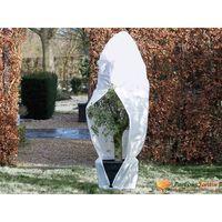 Nature Protetor plantas contra geada c/ fecho 70g/m² 2,5x2,5x3m branco