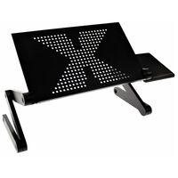 United Entertainment Suporte multifuncional para laptop preto