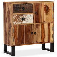 vidaXL Aparador em madeira de sheesham maciça 70x30x80 cm