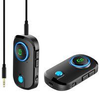 Transmissor sem fio Bluetooth AUX viva-voz