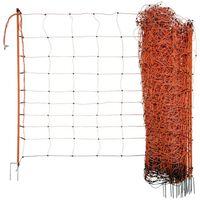 Neutral Rede para ovelhas eletrificável OviNet 108 cm laranja