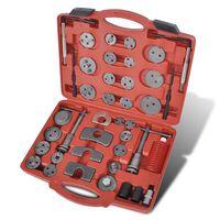 Kit de ferramentas pistão pinça do travão, 40 peças