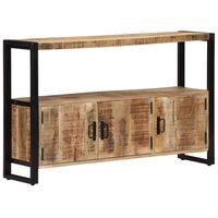 vidaXL Armário lateral 120x30x75 cm madeira de mangueira maciça