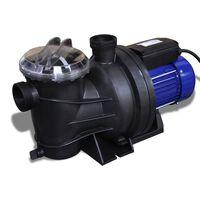 Bomba elétrica para piscina 1200W / Azul