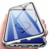 Capa magnética para Samsung Galaxy S9 - prateado