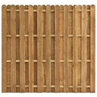 vidaXL Painel de vedação em madeira de pinho 180x170 cm