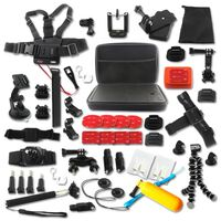 Kit de acessórios para GoPro Hero - 50 peças