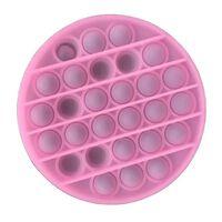 Pop It Fidget Toy Round Pink