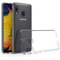 Capa de telefone transparente para Samsung M30 / A40S